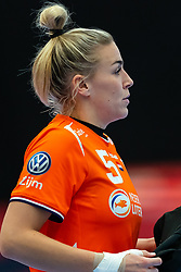 Jessy Kramer of Netherlands disappointed during the Women's EHF Euro 2020 match between Croatia and Netherlands at Sydbank Arena on december 06, 2020 in Kolding, Denmark (Photo by RHF Agency/Ronald Hoogendoorn)