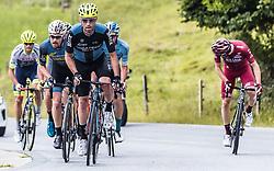 12.07.2019, Kitzbühel, AUT, Ö-Tour, Österreich Radrundfahrt, 6. Etappe, von Kitzbühel nach Kitzbüheler Horn (116,7 km), im Bild v.l.: Stephan Rabitsch (Team Felbermayr Simplon Wels, AUT), Marek Rutkiewicz (Wibatech Merx, POL) // during 6th stage from Kitzbühel to Kitzbüheler Horn (116,7 km) of the 2019 Tour of Austria. Kitzbühel, Austria on 2019/07/12. EXPA Pictures © 2019, PhotoCredit: EXPA/ JFK