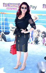 July 1, 2018 - Los Angeles, California, USA - 6/30/18.Alicia Machado at the premiere of ''Hotel Transylvania 3: Summer Vacation'' held at the Westwood Village Theatre in Los Angeles, CA. (Credit Image: © Starmax/Newscom via ZUMA Press)