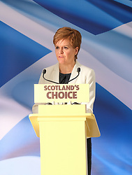 "Nicola Sturgeon Speech, 31 January 2020<br /> <br /> Scottish First Minister Nicola Sturgeon was in Edinburgh today to outline the SNP's next steps in the campaign for Scotland to become an independent country..<br /> <br /> The First Minister said:<br /> <br /> ""Tonight Scotland will be taken out of the European Union against the wishes of the overwhelming majority of people in Scotland.<br /> <br /> ""Nothing could more starkly demonstrate how our nation's needs are no longer served by a broken, discredited Westminster union.<br /> <br /> ""But there is the prospect of a brighter, better future as an equal, independent European nation.<br /> <br /> ""And today I will lay out the next steps on Scotland's journey to independence.<br /> <br /> ""We have a cast-iron democratic mandate for an independence referendum – and the latest polling shows a majority back Yes.<br /> <br /> ""Boris Johnson is terrified of the Scottish people having their say but his bid to stand in the way of democracy will not succeed.""<br /> <br /> Pictured: First Minister Nicola Sturgeon <br /> <br /> Alex Todd 