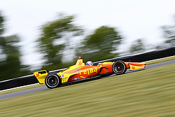 June 22, 2018 - Elkhart Lake, Wisconsin, United States of America - ZACH VEACH (26) of the United Stated takes to the track to practice for the KOHLER Grand Prix at Road America in Elkhart Lake, Wisconsin. (Credit Image: © Justin R. Noe Asp Inc/ASP via ZUMA Wire)
