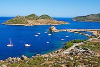 Grece, Dodecanese, Patmos, baie de Grikos // Greece, Dodecanese, Patmos island, Grikos bay