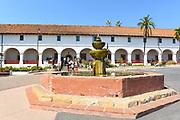 Santa Barbara Mission Entrance