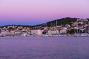 Evening light on the Adriatic, Trogir, Dalmatian Coast, Croatia