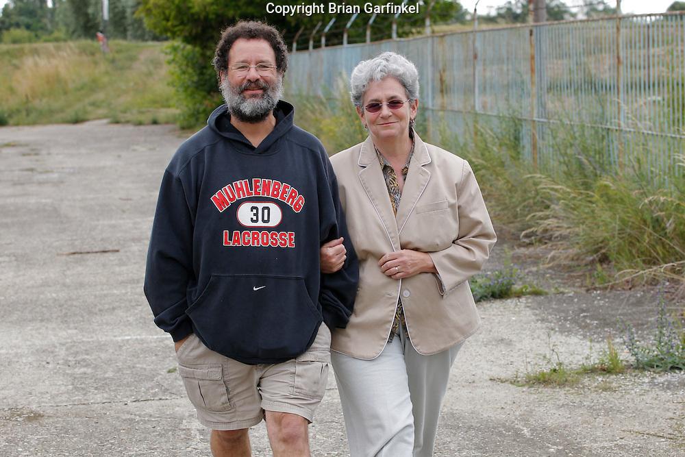 Mom and Dad near Sered, Slovakia on Friday July 1st 2011. (Photo by Brian Garfinkel)