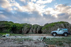 Rental Jeep At Lae Hi Beach