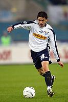 Roma 29/2/2004 Lazio Milan 0-1<br /> Stefano Fiore (Lazio)<br /> Photo Andrea Staccioli Graffiti