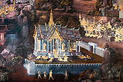 details from the Ramakien gallery Wat Phra Kaew (commonly known in English as the Temple of the Emerald Buddha and officially as Wat Phra Si Rattana Satsadaram) is regarded as the most sacred Buddhist temple in Thailand.