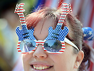 Fourth of July Independence Day Parade in Middletown Township, Pennsylvania
