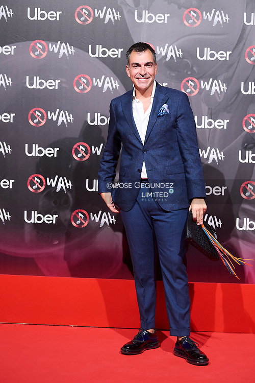 Ramon Freixa attends 'Wah' Musical Show World Premiere Red Carpet at IFEMA on October 7, 2021 in Madrid, Spain