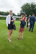 DANNI MENZIES; NOELLE RENO Ladies Day, Glorious Goodwood. Goodwood. August 2, 2012
