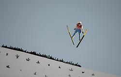 01.01.2015, Olympiaschanze, Garmisch Partenkirchen, GER, FIS Ski Sprung Weltcup, 63. Vierschanzentournee, Bewerb, im Bild Piotr Zyla (POL) // during Competition Round of 63rd Four Hills Tournament of FIS Ski Jumping World Cup at the Olympiaschanze, Garmisch Partenkirchen, Germany on 2015/01/01. EXPA Pictures © 2015, PhotoCredit: EXPA/ JFK