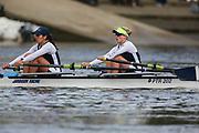 Crew: 71 - Culley / Lenz - Putney Town Rowing Club - W MasB 2x <br /> <br /> Pairs Head 2020
