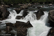 Rapids on White River at Indian Creek Trailhead.