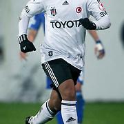 Besiktas's Julio Regufe Alves during their Turkey Cup matchday 3 soccer match Besiktas between Gaziantepspor BSB at the Inonu stadium in Istanbul Turkey on Wednesday 11 January 2012. Photo by TURKPIX