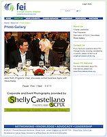 2011:  Financial Executives International Orange County Chapter.  Website photo use.  With advertising logo & link on website.