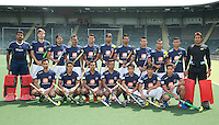 DEN HAAG - .Team van Maleisie (m) .World Cup Hockey 2014. COPYRIGHT KOEN SUYK