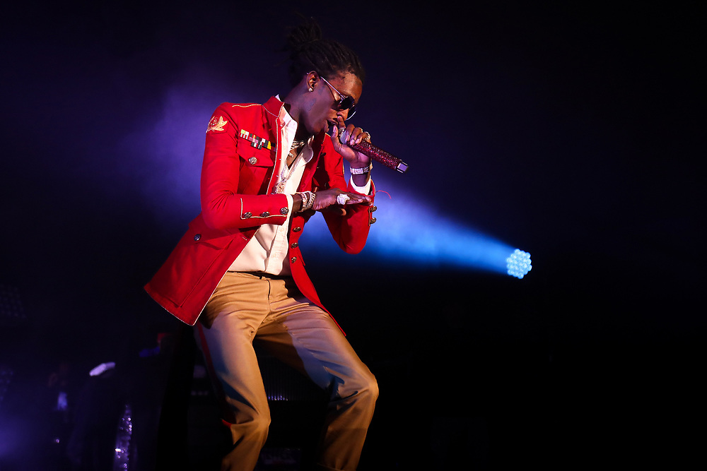 December 14, 2016: Young Thug headlines The Bomb Factory in Dallas, TX on his HIHORSE'D tour with 21 Savage and Divine Council