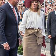 NLD/Terneuzen/20190831 - Start viering 75 jaar vrijheid, Koning Willem Alexander en  Koningin Maxima