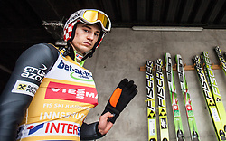 04.01.2014, Bergisel Schanze, Innsbruck, AUT, FIS Ski Sprung Weltcup, 62. Vierschanzentournee, Probesprung, im Bild Kamil Stoch (POL) // Kamil Stoch (POL) during Trial Jump of 62nd Four Hills Tournament of FIS Ski Jumping World Cup at the Bergisel Schanze, Innsbruck, Austria on 2014/01/04. EXPA Pictures © 2014, PhotoCredit: EXPA/ JFK