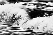 Motion-blur of crashing wave, Skeleton Coast, Namibia