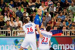 Mlakar Ziga of Slovenia during friendly handball match between Slovenia and Croatia, on October 26, 2017 in Arena Stozice, Ljubljana, Slovenia. Photo by Ziga Zupan / Sportida