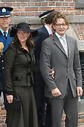 Zijne Hoogheid Prins Floris van Oranje Nassau, van Vollenhoven en mevrouw mr. A.L.A.M. Söhngen zijn donderdag 20 oktober in het stadhuis van Naarden in het burgelijk huwelijk getreden. De prins is de jongste zoon van Prinses Magriet en Pieter van Vollenhoven.<br /> <br /> 20OCT, 2005 - Civil Wedding Prince Floris and Aimée Söhngen. <br /> <br /> Civil Wedding Prince Floris and Aimée Söhngen in Naarden. The Prince is the youngest son of Princess Margriet, Queen Beatrix's sister, and Pieter van Vollenhoven. <br /> <br /> Op de foto / On the photo;<br /> <br /> <br /> Zijne Hoogheid Prins Bernhard van Oranje-Nassau, van Vollenhoven en Hare Hoogheid Prinses Annette van Oranje-Nassau, van Vollenhoven<br /> <br /> His highness prince Bernhard van Oranje-Nassau, of Vollenhoven and her highness princess Annette van Oranje-Nassau, of Vollenhoven