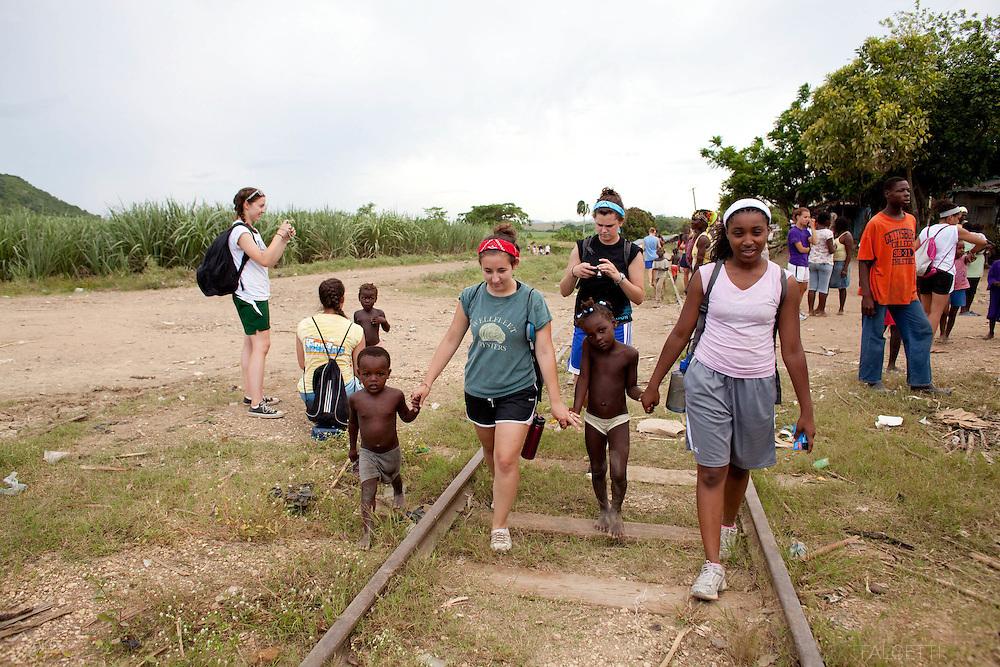 Hota Mayor, Dominican Republic- June 2011:  Day 5 & 6. Master's School DR trip. (Photo by Robert Falcetti). .