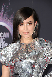 Sofia Carson at the 2019 American Music Awards held at the Microsoft Theater in Los Angeles, USA on November 24, 2019.
