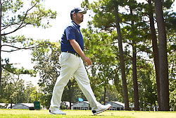 August 10, 2017 - Charlotte, North Carolina, United States - Louis Oosthuizen walks off the 18th tee during the first round of the 99th PGA Championship at Quail Hollow Club. (Credit Image: © Debby Wong via ZUMA Wire)