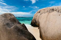 La Digue, Seychelles - 11/20/2012 - Anse Source d'Argent beach, La Digue, Seychelles(Photo by Sharpshooters/VWPics) *** Please Use Credit from Credit Field *** *** Please Use Credit from Credit Field ***