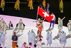 Opening Ceremony, Switzerland<br /> Olympic Games Tokyo 2021<br /> © Hippo Foto - Dirk Caremans<br /> 23/07/2021
