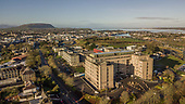Aerial of Sligo University Hospital