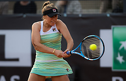 May 16, 2019 - Rome, SPAIN - Sofia Kenin of the United States in action during her third-round match at the 2019 Internazionali BNL d'Italia WTA Premier 5 tennis tournament (Credit Image: © AFP7 via ZUMA Wire)