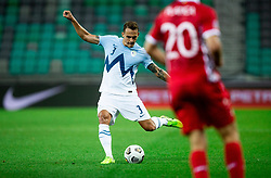 Jure Balkovec of Slovenia during the UEFA Nations League C Group 3 match between Slovenia and Moldova at Stadion Stozice, on September 6th, 2020. Photo by Vid Ponikvar / Sportida