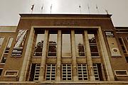 The art deco building of S.M.A.K. - Ghent's Contemporary Art Museum