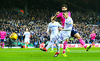 Leeds United's Pablo Hernandez goes close with a chance in the first half<br /> <br /> Photographer Alex Dodd/CameraSport<br /> <br /> The EFL Sky Bet Championship - Leeds United v Queens Park Rangers - Saturday 8th December 2018 - Elland Road - Leeds<br /> <br /> World Copyright © 2018 CameraSport. All rights reserved. 43 Linden Ave. Countesthorpe. Leicester. England. LE8 5PG - Tel: +44 (0) 116 277 4147 - admin@camerasport.com - www.camerasport.com