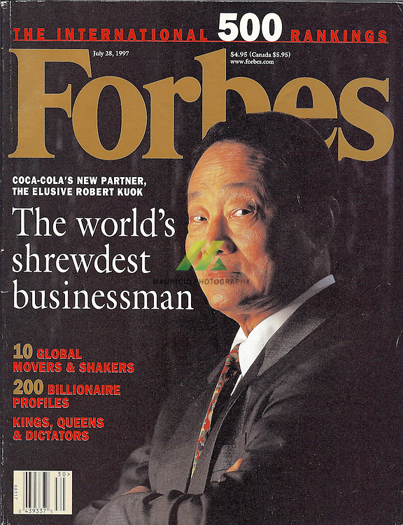 Several Mexican  Businessman in this issue are portrait by Mauricio Ramirez
