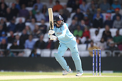 June 21, 2019 - Leeds, Yorkshire, United Kingdom - England's James Vince batting during the ICC Cricket World Cup 2019 match between England and Sri Lanka at Headingley Carnegie Stadium, Leeds on Friday 21st June 2019. (Credit Image: © Mi News/NurPhoto via ZUMA Press)