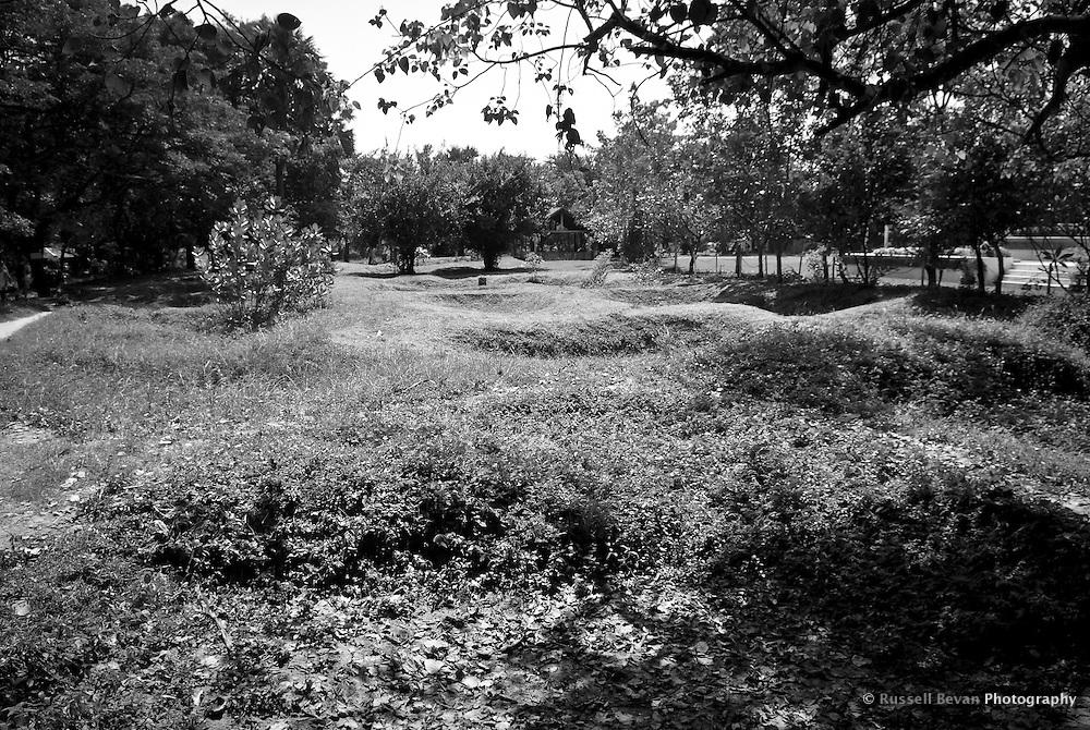 Mass Graves at Choeung Ek, 17 km South of Phnom Penh, Cambodia