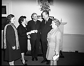 1971 - Presentation of cheque to aid Belfast homeless