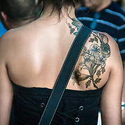 I fans di Alice Cooper al concerto di Milano<br /> <br /> Alice Cooper fans at the concert in Milan