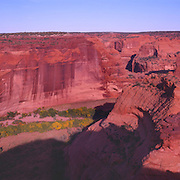 Rugged Canyon de Chelly on the Navajo Reservation in AZ.