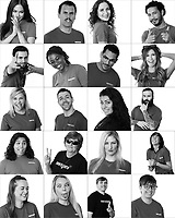 Black and White headshots for health, fitness, dispensary, casual