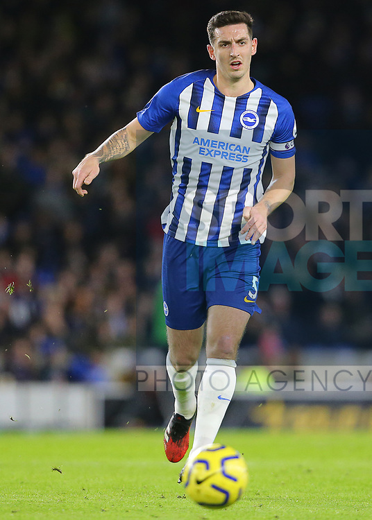 Brighton's Lewis Dunk during the Premier League match at the American Express Community Stadium, Brighton and Hove. Picture date: 8th February 2020. Picture credit should read: Paul Terry/Sportimage