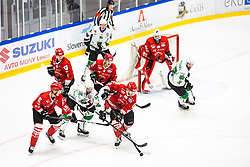 KOCAR Timotj during summer Hockey League match between HK SZ Olimpija and HDD SIJ Jesenice, on September 12, 2020 in Ice Arena Bled, Bled, Slovenia. Photo by Peter Podobnik / Sportida