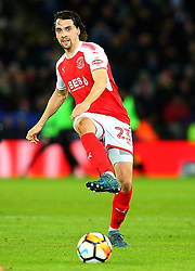 Markus Schwabl of Fleetwood Town - Mandatory by-line: Robbie Stephenson/JMP - 16/01/2018 - FOOTBALL - King Power Stadium - Leicester, England - Leicester City v Fleetwood Town - Emirates FA Cup third round proper