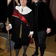 NLD/Amsterdam/20120209 - Bn' ers gefotografeerd als de Nachtwacht voor het Goed Geld Gala 2012, Boris Dittrich en Sipke Jan Bousema