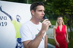 Gregor Krusic, Drzavno prvenstvo novinarjev v tenisu 2019, on June 12, 2019 in Tivoli, Ljubljana, Slovenia. Photo by Saso Pahic Szabo / Sportida