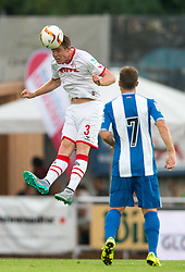 22.07.2015, Grenzland Stadion, Kufstein, AUT, Testspiel, 1. FC Köln vs RCD Espanyol Barcelona, im Bild v.l. Dominique Heintz (1. FC Koeln), Franciso Montanas Clavarias (Espanyol Barcelona) // f.l.t.r. Dominique Heintz (1. FC Koeln) Franciso Montanas Clavarias (Espanyol Barcelona) during the International Friendly Football Match between 1. FC Cologne and RCD Espanyol Barcelona at the Grenzland Stadion in Kufstein, Austria on 2015/07/22. EXPA Pictures © 2015, PhotoCredit: EXPA/ Johann Groder